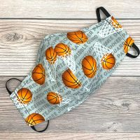 Basketballs Face Mask