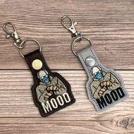 Bernie's Mood Key Fob