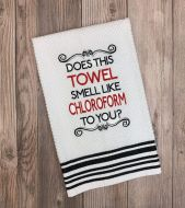 Chloroform Towel
