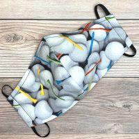 Golf Balls Face Mask