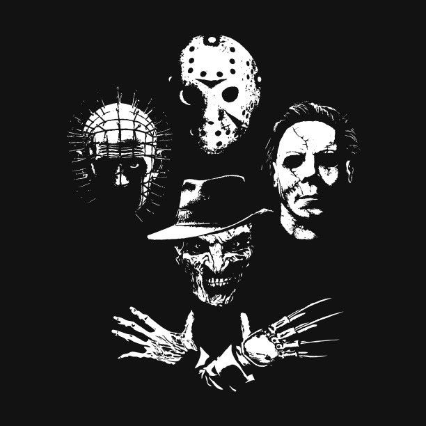 Horror Icons Masks