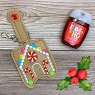 Gingerbread House Sanitizer Holder