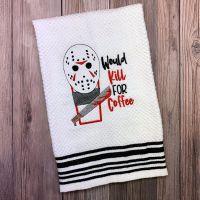 Jason Loves Coffee Towel