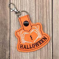 Halloween Love Key Ring
