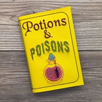 Potions & Poisons Notebook (Mini)