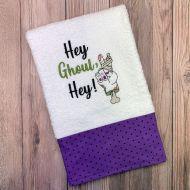 Hey Ghoul Towel