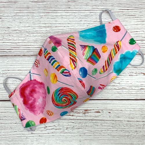 Rainbow Candy Face Mask