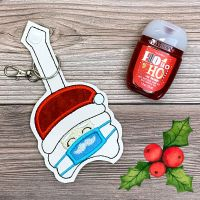 Santa Sanitizer Holder