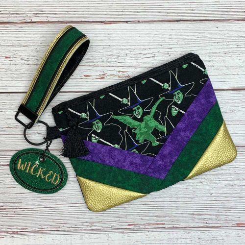 Wicked Zipper Bag